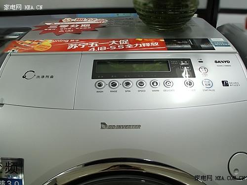 三洋变频滚筒洗衣机