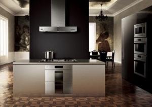 现代厨房和谐感之方太嵌入式消毒柜评测