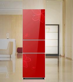 美的冰箱中国红 锁住营养健康不流失