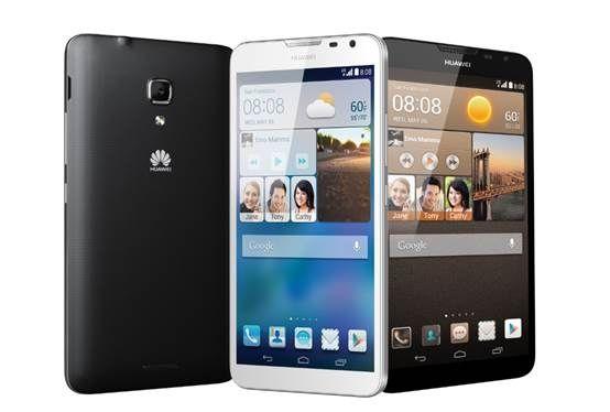 华为CES展亮相首款4G大屏旗舰智能手机