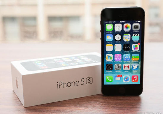 iPhone 5s获最大市场份额 大幅超越5c