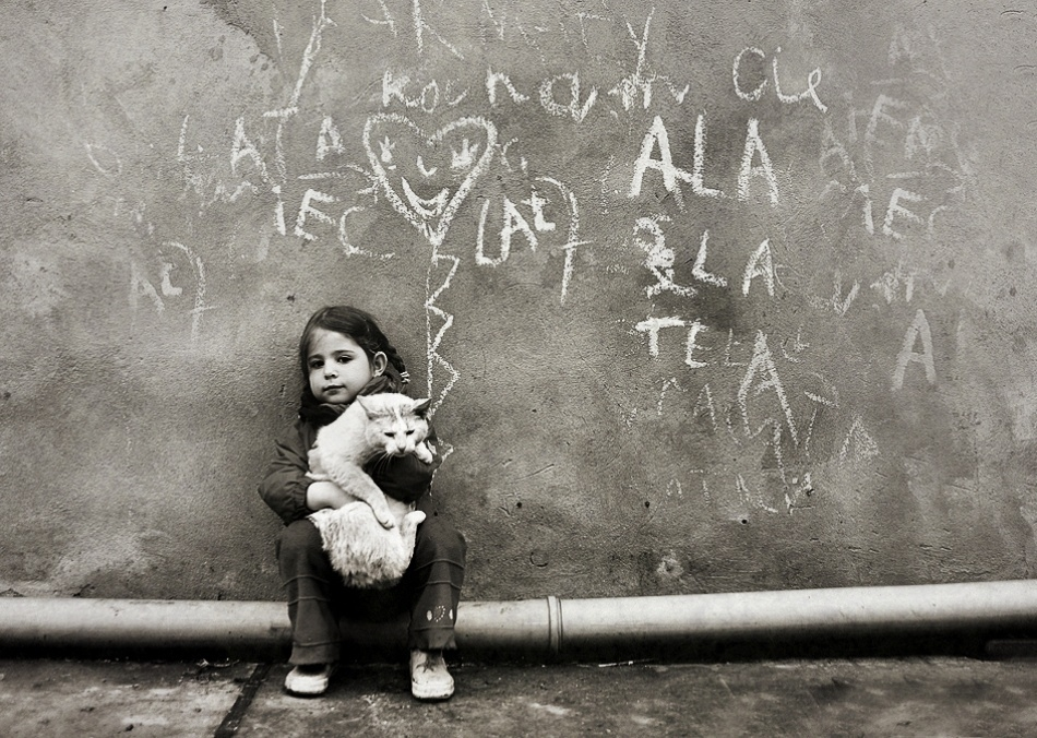 復古風趣的兒童攝影