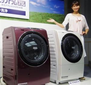 1月份日本国内白电出货额同比增34.7%