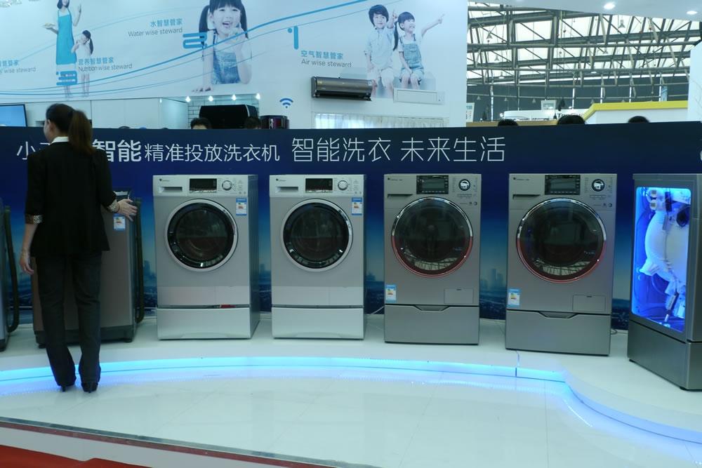 小天鹅i智能精准投放洗衣机全系列新品亮相。