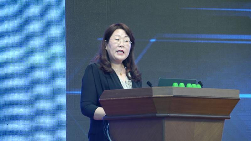 中国家用电器服务维修协会会长刘秀明发言