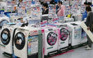 日本3月白色家电出货额按年增19.1%