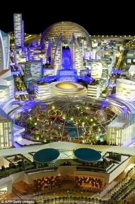 迪拜欲建世界最大购物商场占地445万平方米