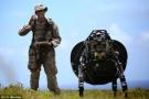 谷歌机器狗走上战场首次实测:可负重180公斤