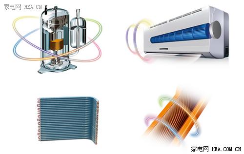 空调采用新型可控硅技术,瞬间开启和阻断高电压和强电流,进而控制风机
