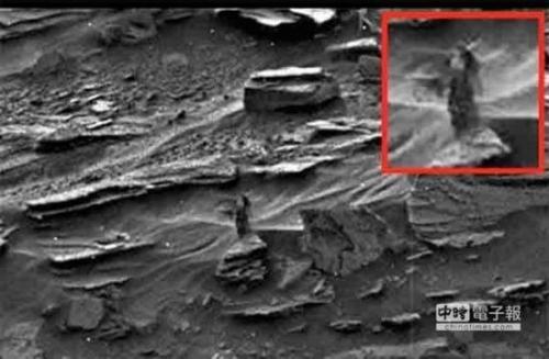 NASA火星照片惊现长发露胸