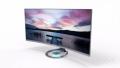 华硕发布曲面屏显示器 功能齐全而且颜值高