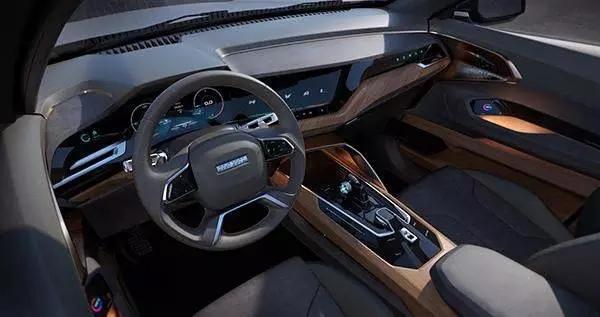 不只止于车灯,在今年的北京车展上,长城汽车推出的概念车哈弗hb-02便