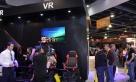 VR展区引来了美国电视台进行现场报道。