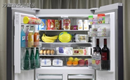 冰箱冷藏室内部空间一览