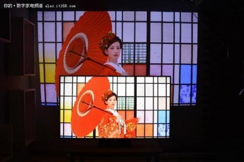 ▲现阶段与普通电视在亮度、清晰度和色彩方面还是存在较大差距