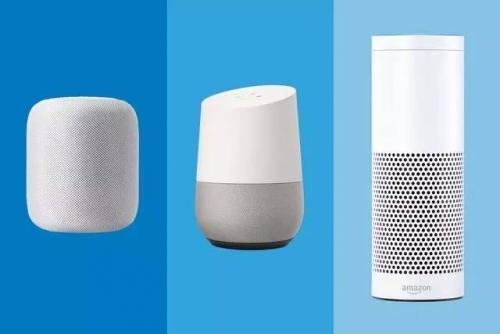 苹果HomePod 谷歌Google Home 亚马逊Amazon Echo