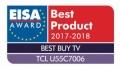 C2荣获欧洲EISA奖 TCL成首家获奖中国品牌