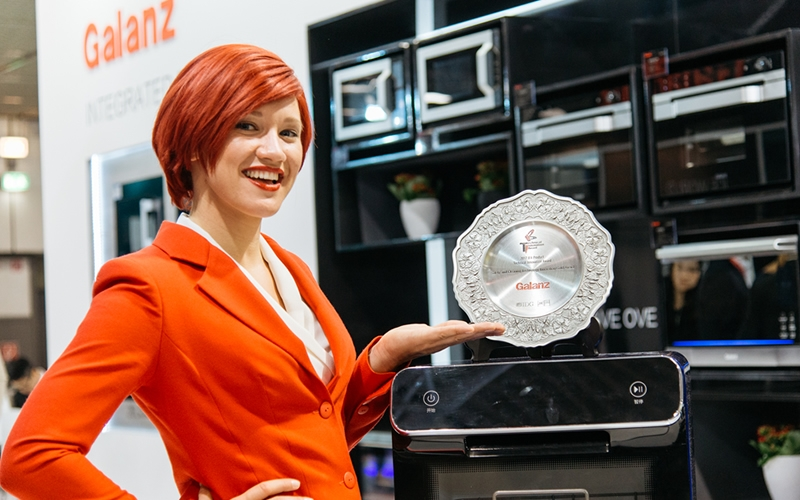 IFA小姐和获奖洗碗机