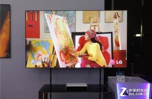 激光电视的色彩表现具有高水准