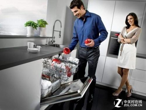 在国外非常流行的洗碗机在中国只能用刚刚起步形容