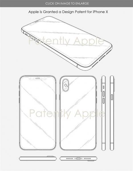 苹果中国拿下iPhone X外形专利:想模仿刘海难了