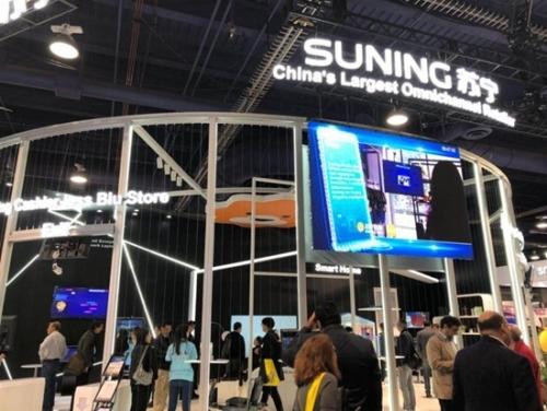 CES随处可见中国品牌