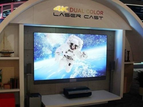 三色4K亮相CES2018激光电视将迎变革?