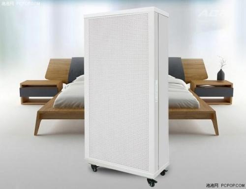 改造后面向家用的FFU空气净化器