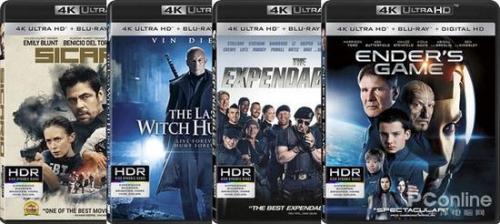 4K Ultra HD Blu-ray影碟