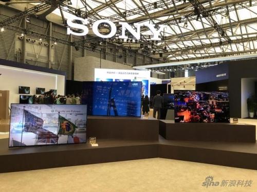 索尼Bravia A8F OLED电视新品