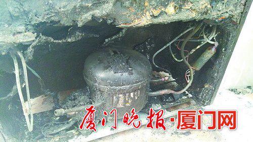 冰箱自燃的原因仍在调查当中。