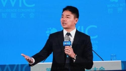 刘强东发表演讲