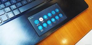 指尖屏幕:OLED触控板首次应用于笔记本电脑