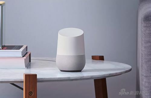 谷歌的Google Home智能音箱