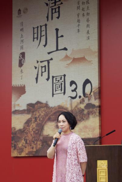 故宫博物院首次尝试通过8K技术展示国宝文物《清明上河图》