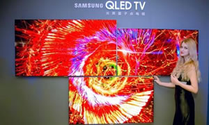 三星官宣:2019将推QD-OLED电视新品