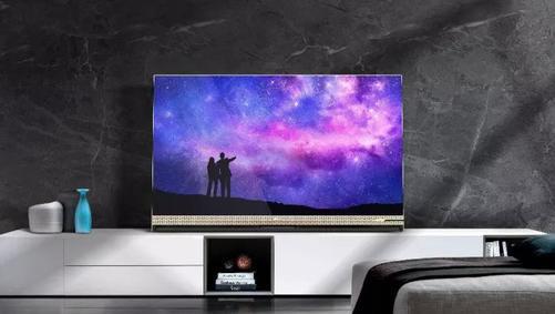 叠屏电视:OLED电视的致敬作