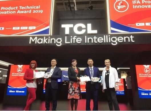 TCL冰箱洗衣机耀动IFA2019