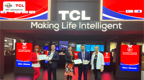 科技创想未来 TCL冰箱同升国际s8s耀动IFA2019