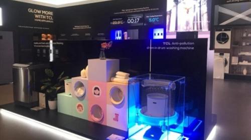 IFA 2019 TCL同升国际s8s开启全新免污分类洗护时代