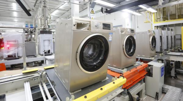 全球可同时生产波轮、滚筒的互联工厂在海尔落成