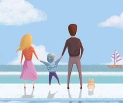 《小别离》三口之家齐聚 和万和热水器健康生活