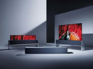LG可卷曲电视终于上市 售价高达1亿韩元