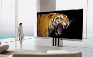 全球首款165英寸可折叠电视 售价达40万美元